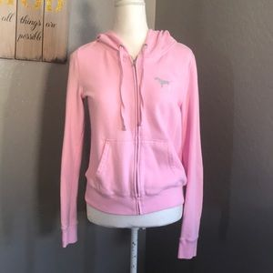 Pink sweater size med
